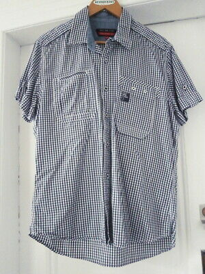 £4.50 • Buy Men's Duck And Cover Short Sleeve Shirt.. Size Large... Great Condition