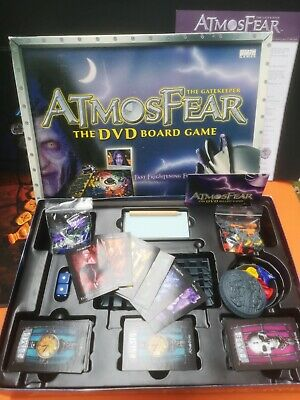 £2 • Buy Atmosfear Dvd Board Game Replacements Pieces The Gatekeeper 2003 Atmosphere