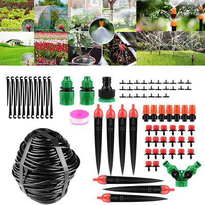£4.98 • Buy 40M/131ft Automatic Drip Irrigation Greenhouse System Garden Plant Watering Kits