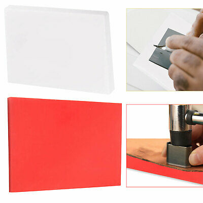 £11.05 • Buy New Leather Punch Mat Cutting Board Hole Punching Pad Stamping Hole Bag Tool DIY