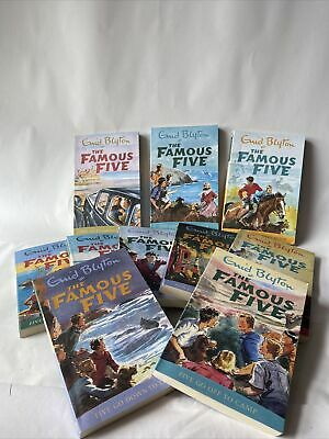 £12 • Buy The Famous Five 12 Titles In 4 Books Collection Set For Children By Enid Blyton