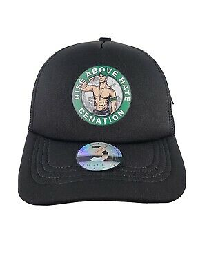 £7.27 • Buy JOHN CENA Youth Hat Cap WWE Salute The Cenation Rise Above Hate Wrestling