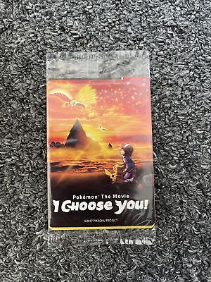 $39.99 • Buy Pokemon The Movie I Choose You 3 Card Promo Pack Factory SEALED