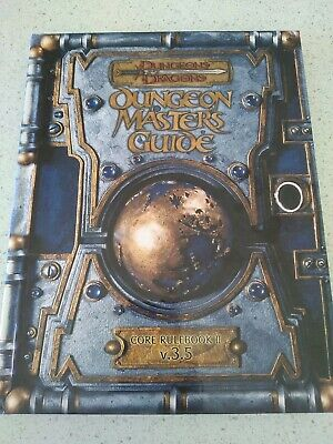 AU100 • Buy Dungeons And Dragons Dungeon Master Guide  Core Rulebook V3.5