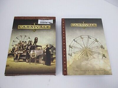 £8.77 • Buy Carnivale- The Complete First Season DVD 6-Disc Set
