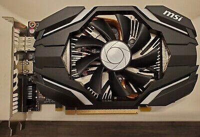 AU799.01 • Buy MSI GeForce GTX 1060 OC GDDR5 6GB Gaming Graphics Card. Offers Accepted!!