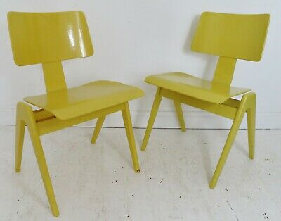 £550 • Buy Stunning Pair Of Vintage Robin Day Hille Hillestak Chairs