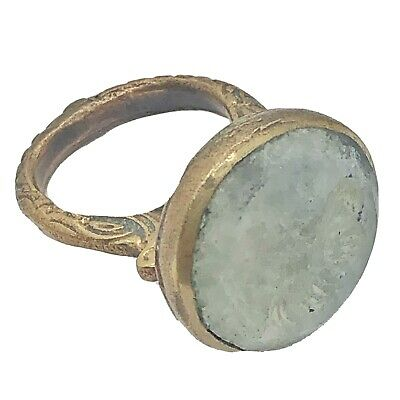 £47.26 • Buy Antique Islamic Intaglio Ring - Post Medieval Ottoman Empire Style Middle East C