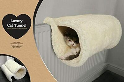 £19.99 • Buy Luxury Quality Cat Tunnel And Bed, Radiator Or Floor Standing, Warm And Cosy