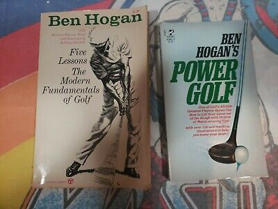 £18.12 • Buy Ben Hogan's Power Golf And Five Lessons The Modern Fundamentals Of Golf PB