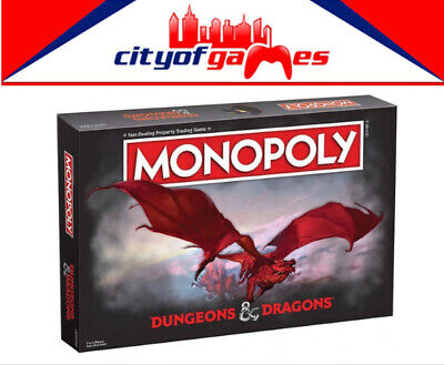 AU59.95 • Buy Dungeons And Dragons Monopoly Board Game Brand New Pre Order