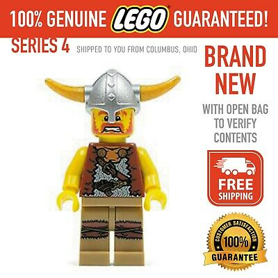 £14.56 • Buy Lego Minifigures Series 4 - Viking - New With Open Bag - FREE SHIPPING
