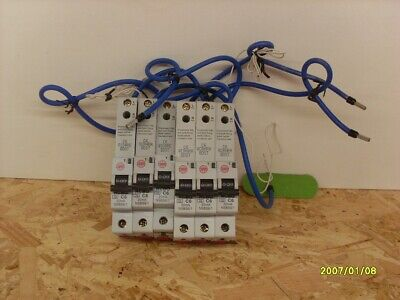 £10 • Buy Wylex NSBS6/1 6Amp 30mA S/pole RCBO 230v Type C New Item No Packing
