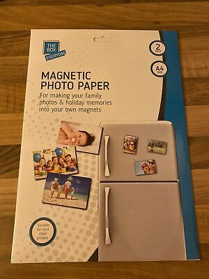 £2.30 • Buy The Box Magnetic Photo Paper 2 Pack A4 Size