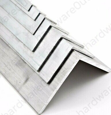 £5.51 • Buy SGS ALUMINIUM Extruded Equal ANGLE - Various Sizes Bespoke Orders Cut To Size