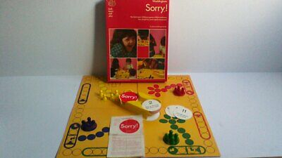 £17.99 • Buy Vintage 1977 Waddingtons Sorry Board Game Excellent Condition & Complete FREEP&P