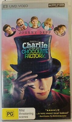 AU7 • Buy Charlie And The Chocolate Factory (UMD, 2006) Psp R4 Johnny Depp Free Shipping