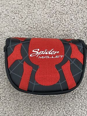 £25 • Buy TaylorMade Spider Mallet Small Round Centre Shaft Putter Cover - Brand New