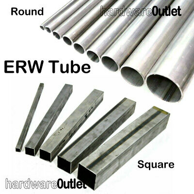 £4.62 • Buy XERW Round Or Square Mild Steel TUBE Pipe Band Saw Cut UK Metal Supplier