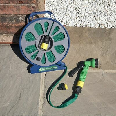 £10.99 • Buy High Quality 50ft Flat Garden Hose Pipe Outdoor Watering 15m