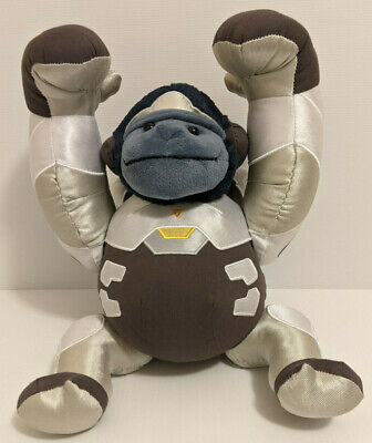 AU34.95 • Buy Overwatch WINSTON Articulated Stuffed Plushie - 26cm Toy - FREE POSTAGE
