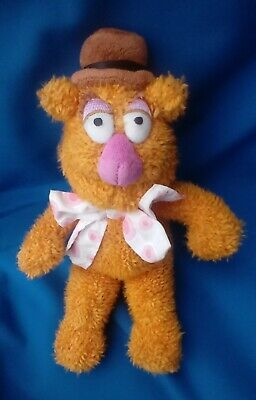 £14 • Buy Disney Exclusive Small Fozzie Bear Soft Toy Beanie Plush From The Muppets