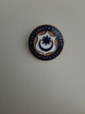 £4.99 • Buy Portsmouth Fc Supporters Club Metal Badge Vintage