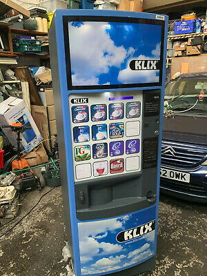 £399.99 • Buy Klix Outlook 16 Selection Hot/cold Drinks Coffee Vending Machine