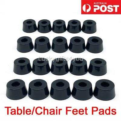 AU8.95 • Buy 20x Rubber Furniture Table Chair Feet Leg Pads For Tile Floor Protectors Cover