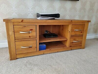 £50 • Buy Pine Wood TV Cabinet Purchased From NEXT RRP £399