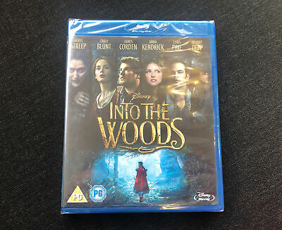 £4 • Buy Into The Woods Blu-ray (New And Sealed)