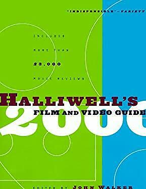 £6.80 • Buy Halliwell's Film And Video Guide 2000 Paperback Leslie Halliwell