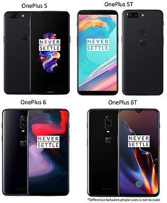 AU177.53 • Buy OnePlus 5 / 5T / 6 / 6T   64-256GB AT&T T-Mobile OR GSM Unlocked  FAIR 5/10-7/10
