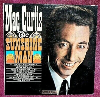 £18.15 • Buy Mac Curtis The Sunshine Man LP **NOT A PROMO** PLAY GRADED Fully Tested