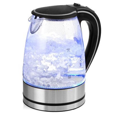 AU34.69 • Buy Pursonic 1.7L Glass Kettle LED Blue Light Stainless Steel Hot Water Jug 2200W