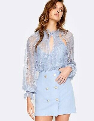 AU75 • Buy Alice McCall St Germaine Blouse People Lace Size 14
