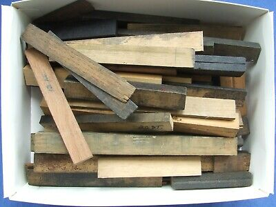 £8 • Buy Letterpress Printing Adana Assorted Pieces Of WOOD FURNITURE Sold By Weight 500g