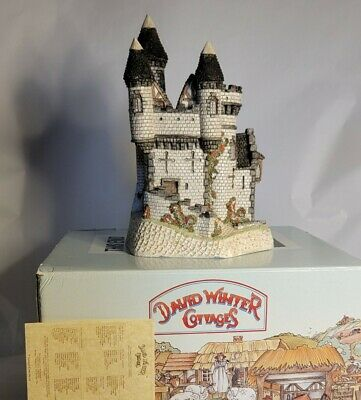 £73.12 • Buy David Winter MACBETH'S CASTLE LARGE ☆COA☆ ISSUED 1988, PERFECT CONDITION