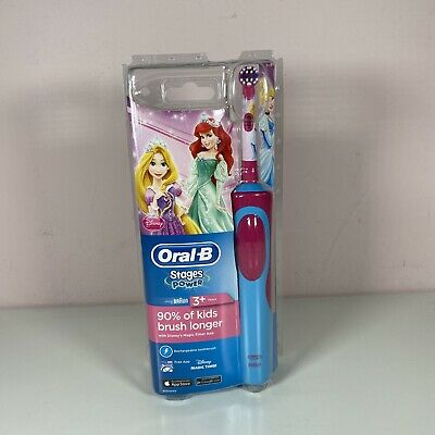 AU37.72 • Buy Oral-B Stages Power Kids Disney Princess Rechargeable Toothbrush 3+ Years