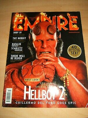 £1.75 • Buy Empire Magazine 225  March 2008 Features Hellboy 2, The Hobbit