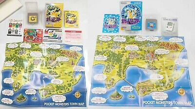 $110 • Buy Pokemon Blue And Pokemon Yellow Version Special Pikachu Gameboy Complete In Box