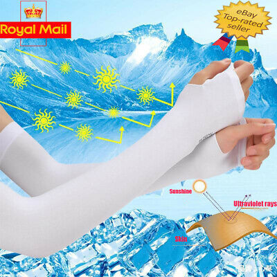 £3.95 • Buy Sun Protection UV Outdoor Golf Sport Hiking Cycling Arm Sleeve Cover Warmer Cuff