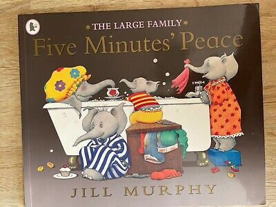 £1.99 • Buy The Large Family - Five Minutes Peace - Kids Book