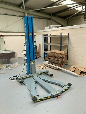 £2000 • Buy 1 Post Lift Mobile Twin Busch 2.5t Nearly New 1ph 13a