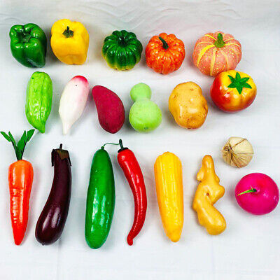 £2.39 • Buy Artificial Vegetables Fake Chili Photography Props Craft Ornament Supplies Decor