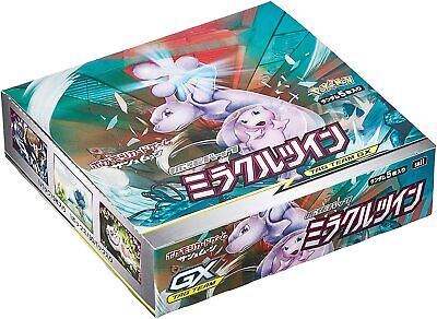 $89.99 • Buy JAPANESE Miracle Twins SEALED BOX - 30 Booster Packs Pokemon Cards SM11 CH