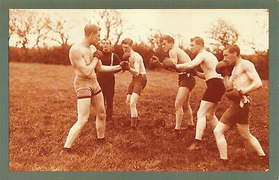 £1.99 • Buy Nostalgia Postcard Boxer Bombadier Billy Wells Training, Selsey 1913 Repro NS32