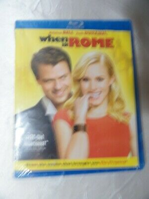 £3.62 • Buy New When In Rome Blu Ray