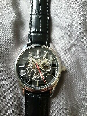 £50 • Buy Rotary Mens Automatic Skeleton Watch GS03876