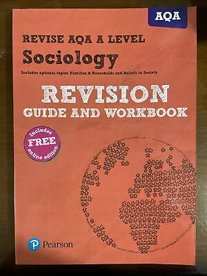 £16 • Buy Revise AQA A Level Sociology Revision Guide And Workbook